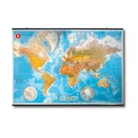 Weltkarte geografisch