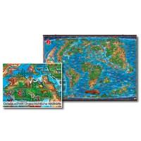 Urgeschichtliche Weltkarte
