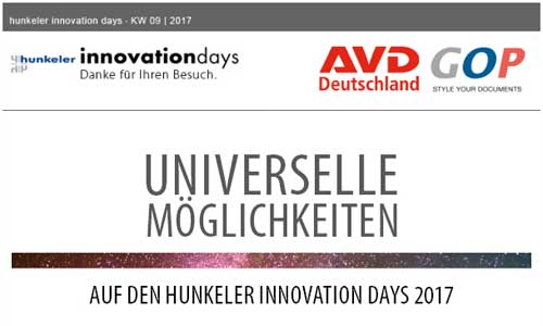 Nachlese hunkeler Day 2017